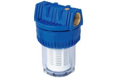 """Filtro da 1 1/4"""", corto, conportafiltro lavabile (628816000)"""