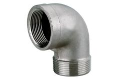 "Raccordo angolare 1 1/2"" acciaio inox (0903064838)"