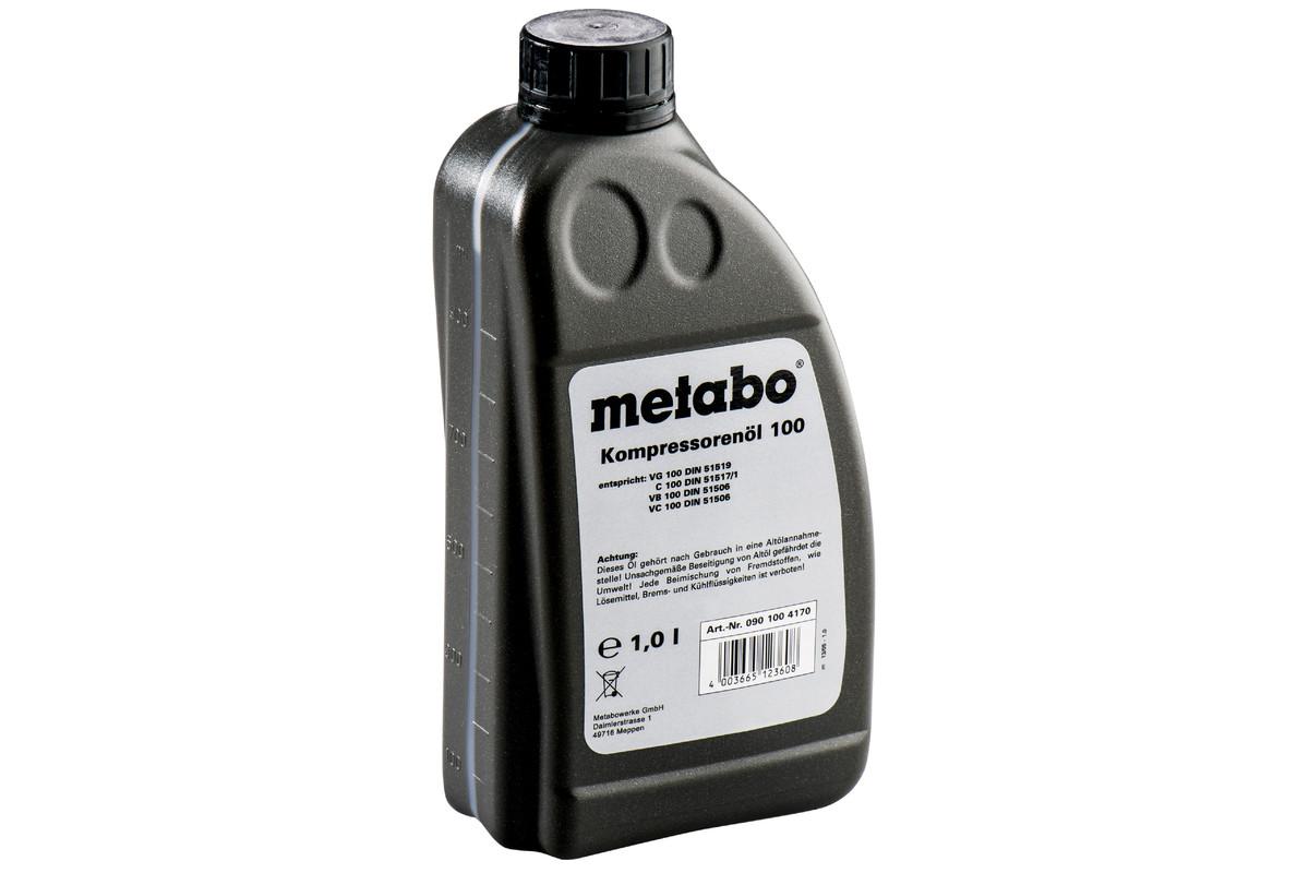 Kompresorių alyva, 1 l, skirta stūmokliniams kompresoriams (0901004170)