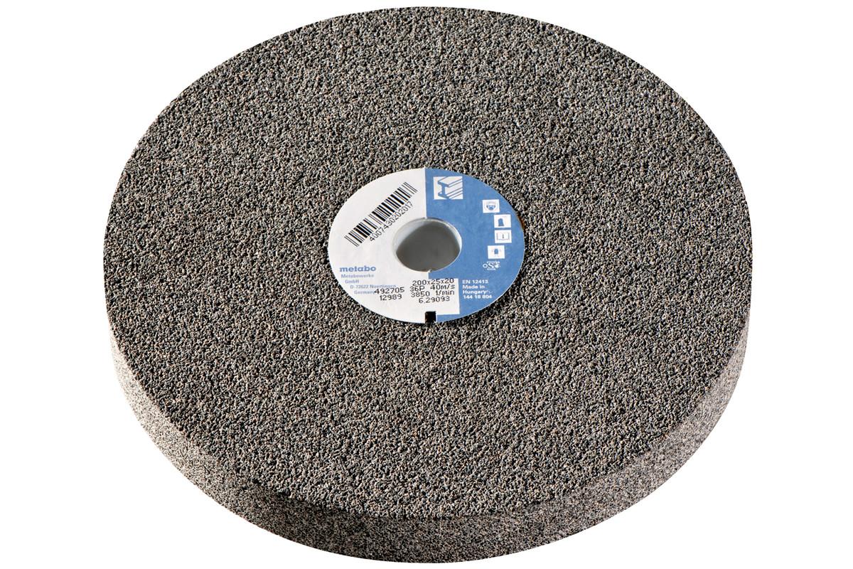 Šlifavimo diskas, 175x25x20 mm, 50 N, NK, dvig. šlif. (629092000)