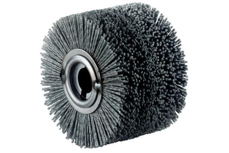 Apvalus plastikinis šepetėlis, 100x70 mm (623505000)