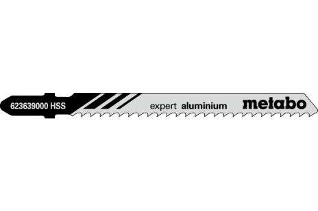 "5 siauriapjūklio geležtės ""expert aluminium"" 74/3,0 mm (623639000)"