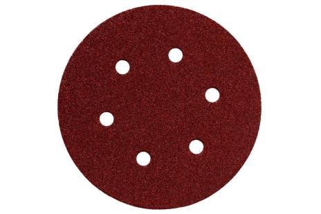 5 vnt. prikimbančių šlifavimo lakštų, 150 mm P 100, med.+met., SXE (624004000)