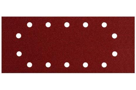 10 šlifavimo lakštų, 115x280 mm, P 40, med.+met., SR (624491000)