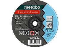 Flexiamant super 180x6,0x22,23 nerūdijantysis plienas, SF 27 (616610000)