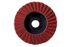 Kombinuotasis plokštelinis šlifavimo diskas, 125 mm, rupus, kamp. šlif. (626369000)