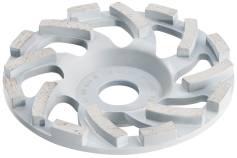 """Gaubtas deimantinis šlifavimo diskas abrazyvinėms medžiagoms """"professional"""", Ø 125 mm (628206000)"""
