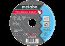 Diski Flexiarapid Super nerūsošajam tēraudam