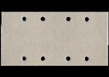 93 x 185 mm slīpēšanas plāksnes ar līplenti un 8 atverēm