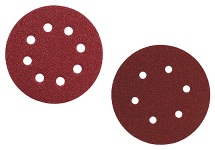 Orbitālās slīpmašīnas slīpēšanas diski
