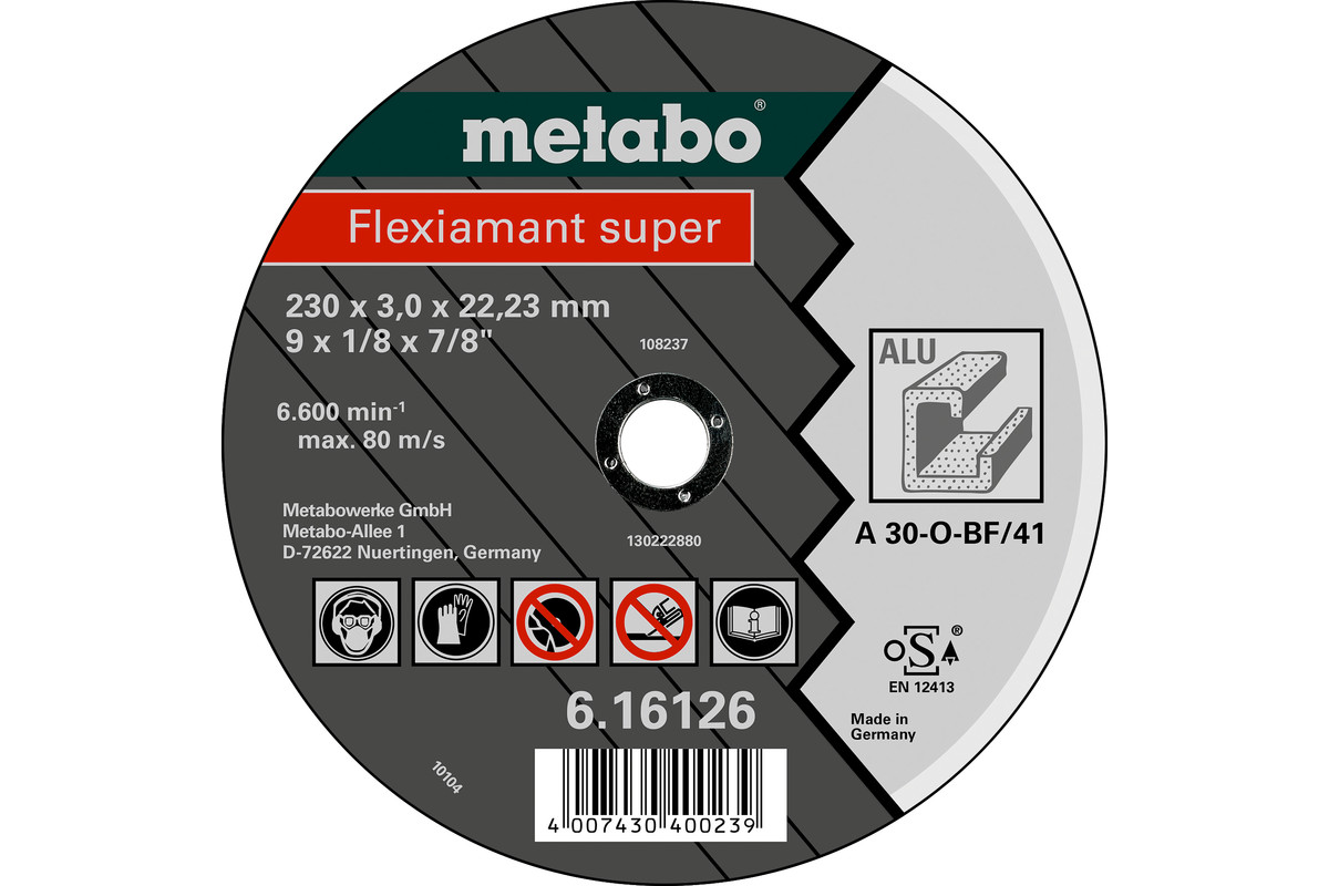 Flexiamant Super 125x2,5x22,23, alumīnijam, GF 41 (616752000)