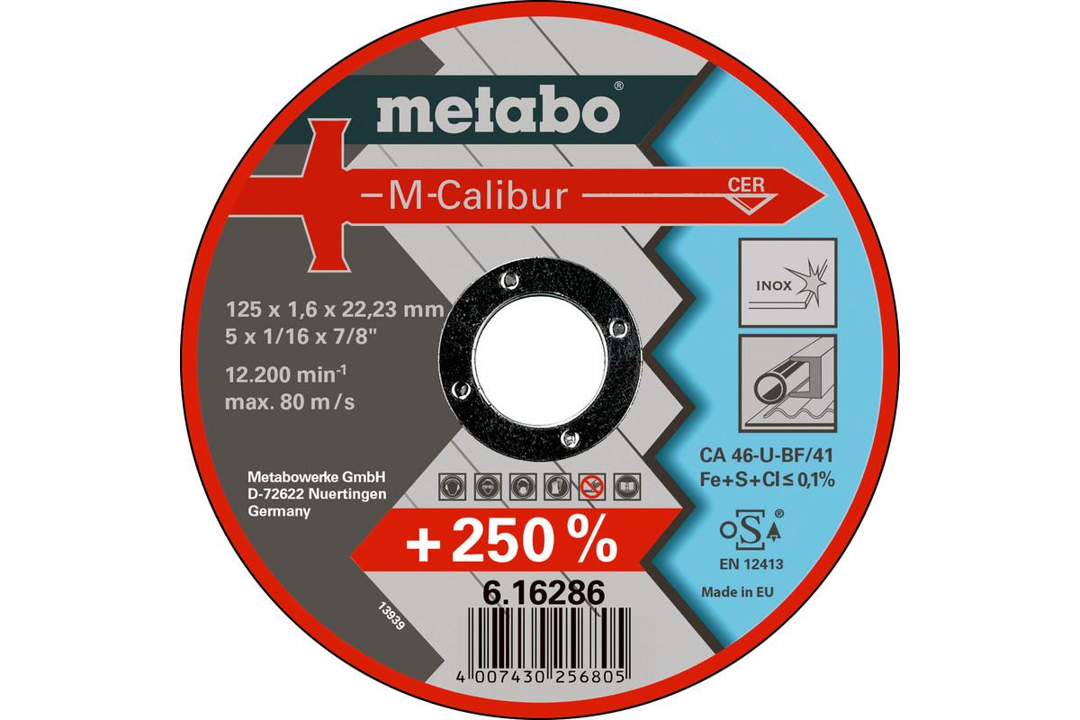 M-Calibur 125x1,6x22,23, nerūsošajam tēraudam, GF 41 (616286000)