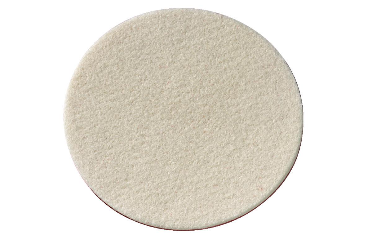 Mīksts filca pulēšanas disks ar līplenti, 155x5 mm (624965000)