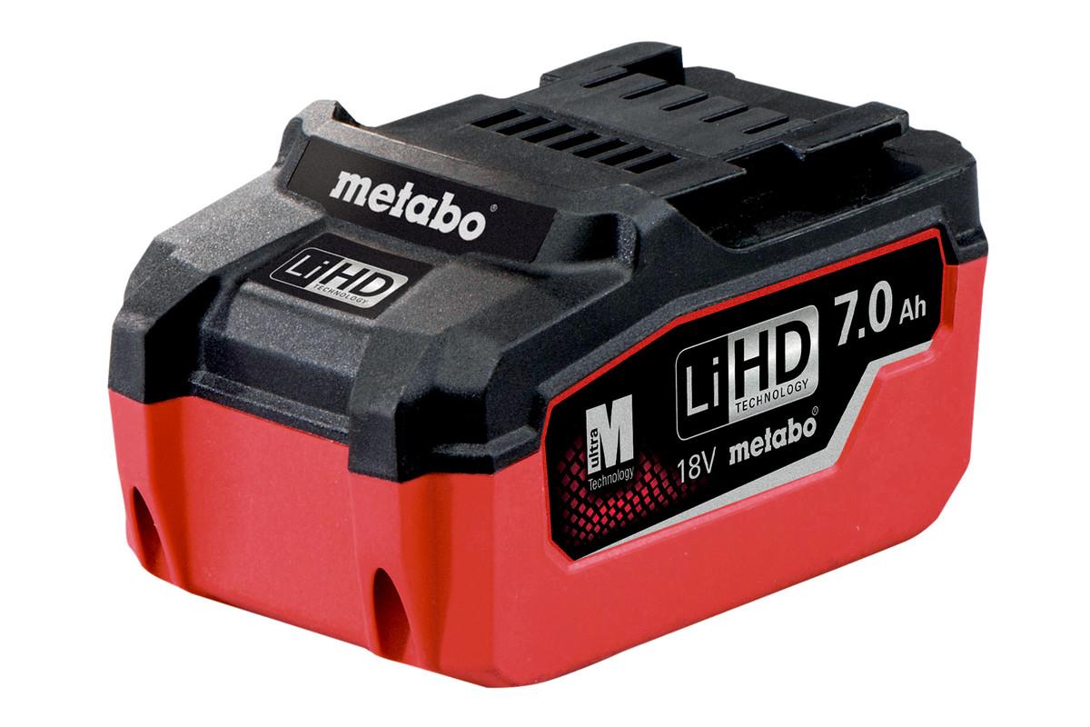 Akumulators LiHD18V-7,0Ah (625345000)
