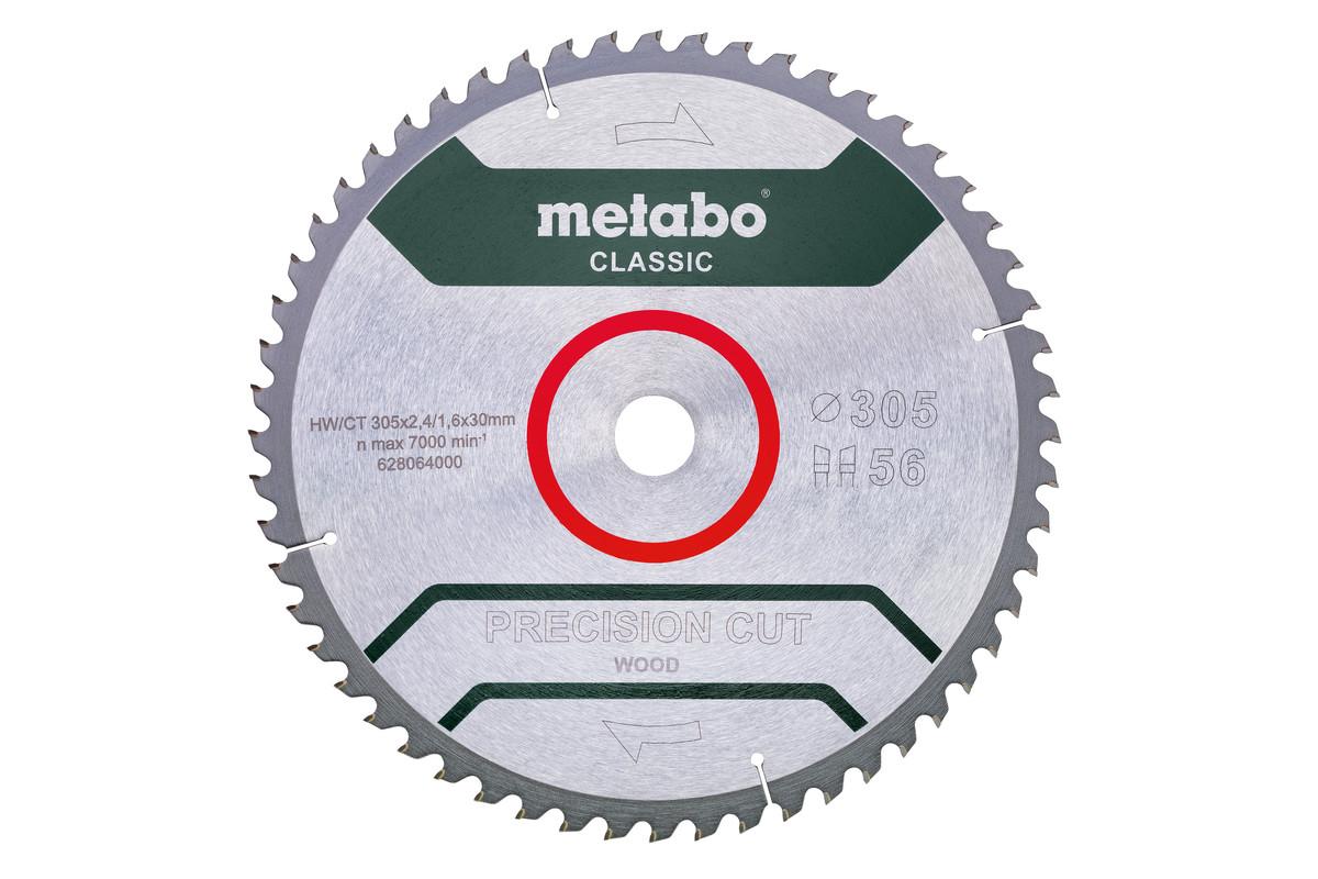 "Zāģa plātne ""precision cut wood – classic"", 305x30, Z56 WZ 5° neg. (628064000)"