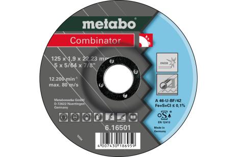 Combinator 125x1,9x22,23, nerūsošajam tēraudam, GF 42 (616501000)