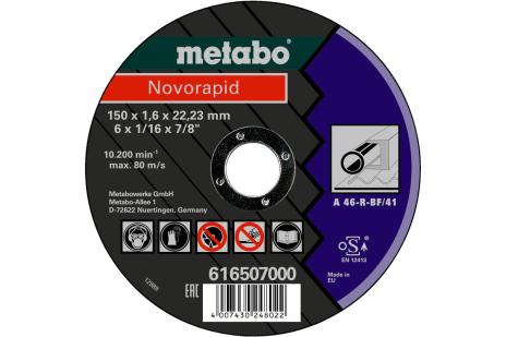 Novorapid 150 x 1,6 x 22,23 mm, tēraudam, GF 41 (616507000)