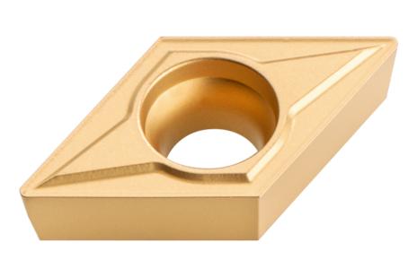 10 cietmet. grozāmās plāksnes, 45° fazīte; ISO: DCMT 11 T 304 (623560000)