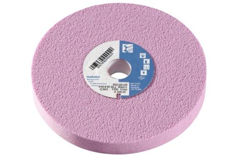 Slīpēšanas disks, 150x20x20 mm, 80 J, augst. kval. kor., divpus. slīpmaš. (630638000)