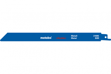 5 zobenzāģu asmeņi, metālam, Flexible, 225x0,9 mm (631493000)