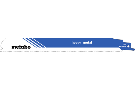 5 zobenzāģu asmeņi, metālam, Profes., 225x1,1 mm (631989000)