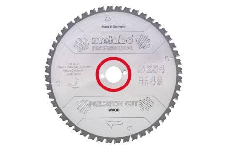 "Zāģa plātne ""precision cut wood – professional"", 210x30, Z40 WZ 3° (628037000)"