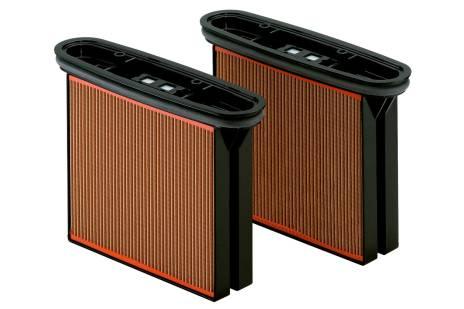 2 filtru kasetnes, celuloze, putekļu klase M (631933000)