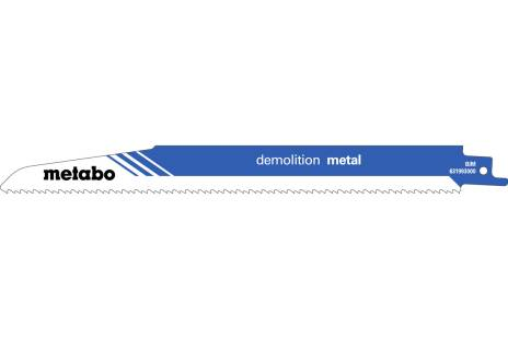 "5 zobenzāģa asmeņi ""demolition metal"" 225x1,6mm (631993000)"