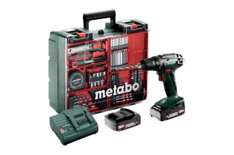 BS 18 Set (602207880) Akumulatora urbjmašīna/skrūvgriezis