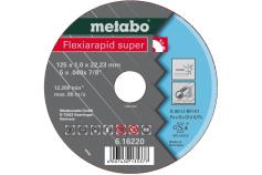 Flexiarapid Super 125x1,0x22,23 mm, nerūsošajam tēraudam, GF 41 (616220000)