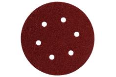 25 slīpēšanas diski ar līplenti, 150 mm, kompl., kok. + met., modelim SXE (624066000)