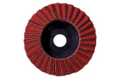 Kombinētais lameļu slīpēšanas disks, 125 mm, raupjšs, leņķa slīpmašīnām (626369000)