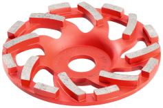 Ø 125 mm dimanta kausveida slīpēšanas disks betonam Professional (628205000)