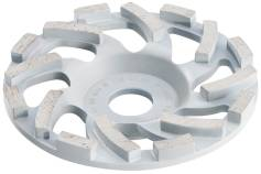 Ø 125 mm dimanta kausveida slīpēšanas disks abrazīviem materiāliem Professional (628206000)