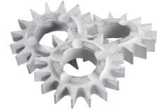 10spici zvaigžņveida frēzēšanas gredzenu zobi RSEV19-125RT (628270000)