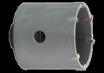 Boorkronen met inwendige M16-schroefdraad