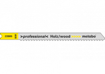 Decoupeerzaagbladen voor hard hout (bimetaal)