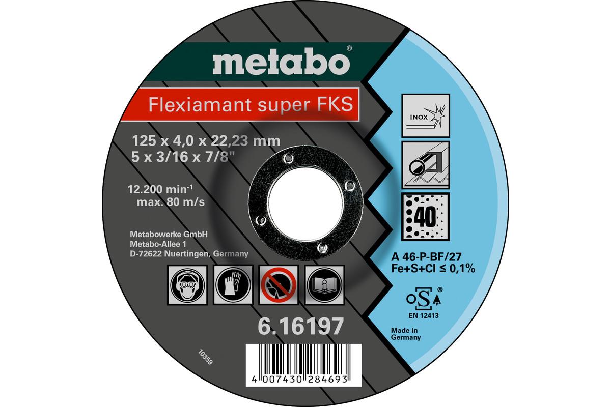 Flexiamant Super FKS 60, 125x4,0x22,23 Inox, SF 27 (616198000)