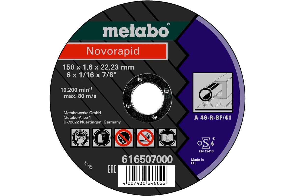 Novorapid 150 x 1,6 x 22,23 mm, staal, TF 41 (616507000)