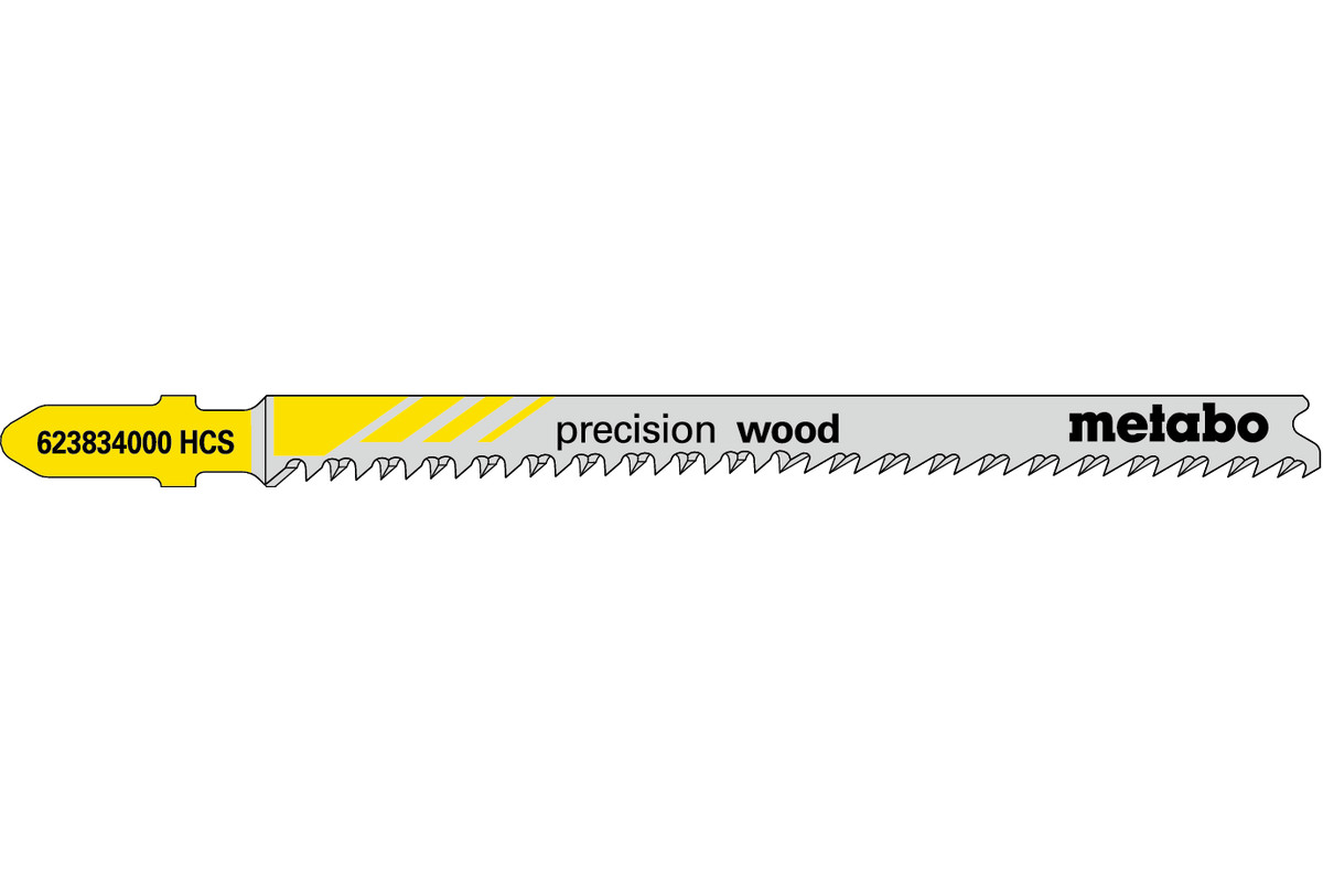 "5 decoupeerzaagbladen ""precision wood"" 91 2,2 mm (623834000)"