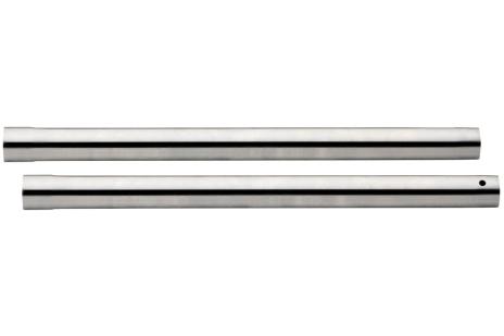 2 zuigbuizen diam.-35mm, l-0,4m, verchroomd (631363000)