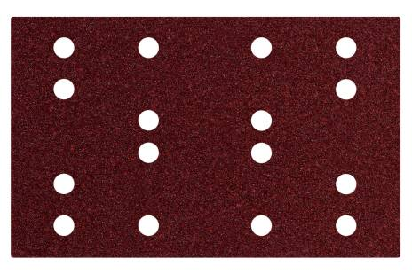 Hechtschuurbladen 80 x 133 mm, P 40, 16 gaten met klithechting (SRA) (635190000)