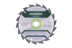 Cirkelzaagblad HW/CT 165x20, 18 WZ 20°, classic (628272000)
