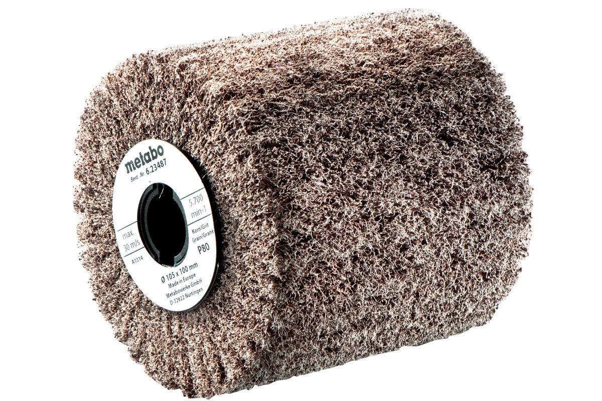 Fleece slipehjul 105x50 mm, P 60 (623515000)