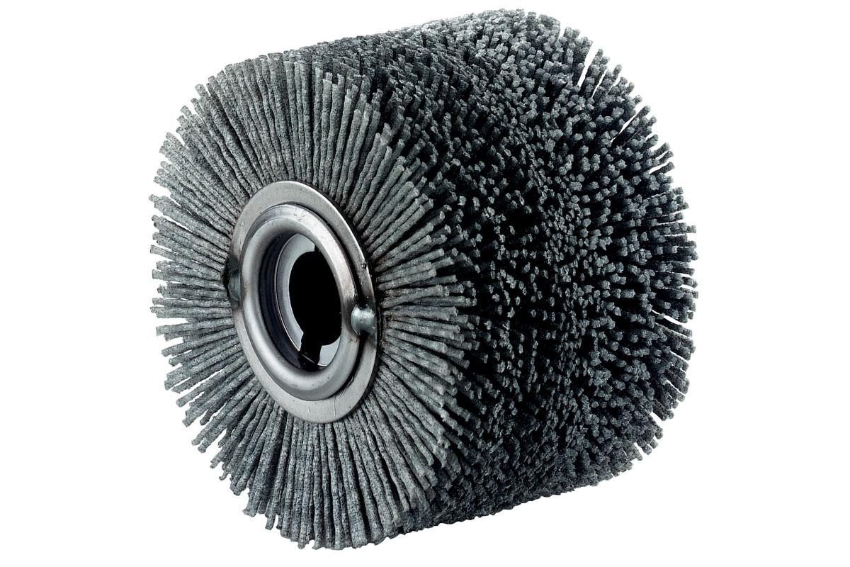 Rund kunststoffbørste 100x70 mm (623505000)