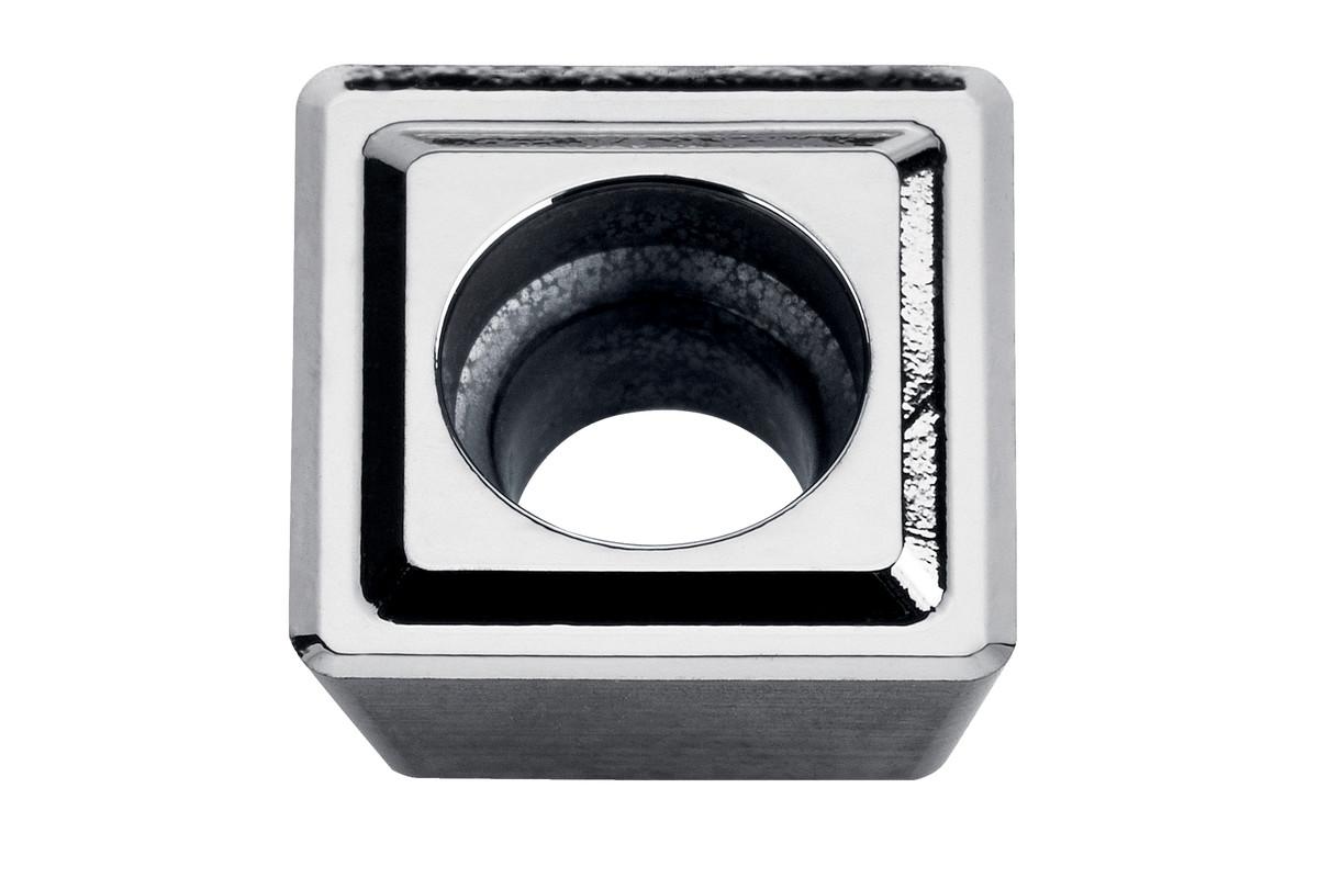 10 HM vendeplater aluminium (623559000)