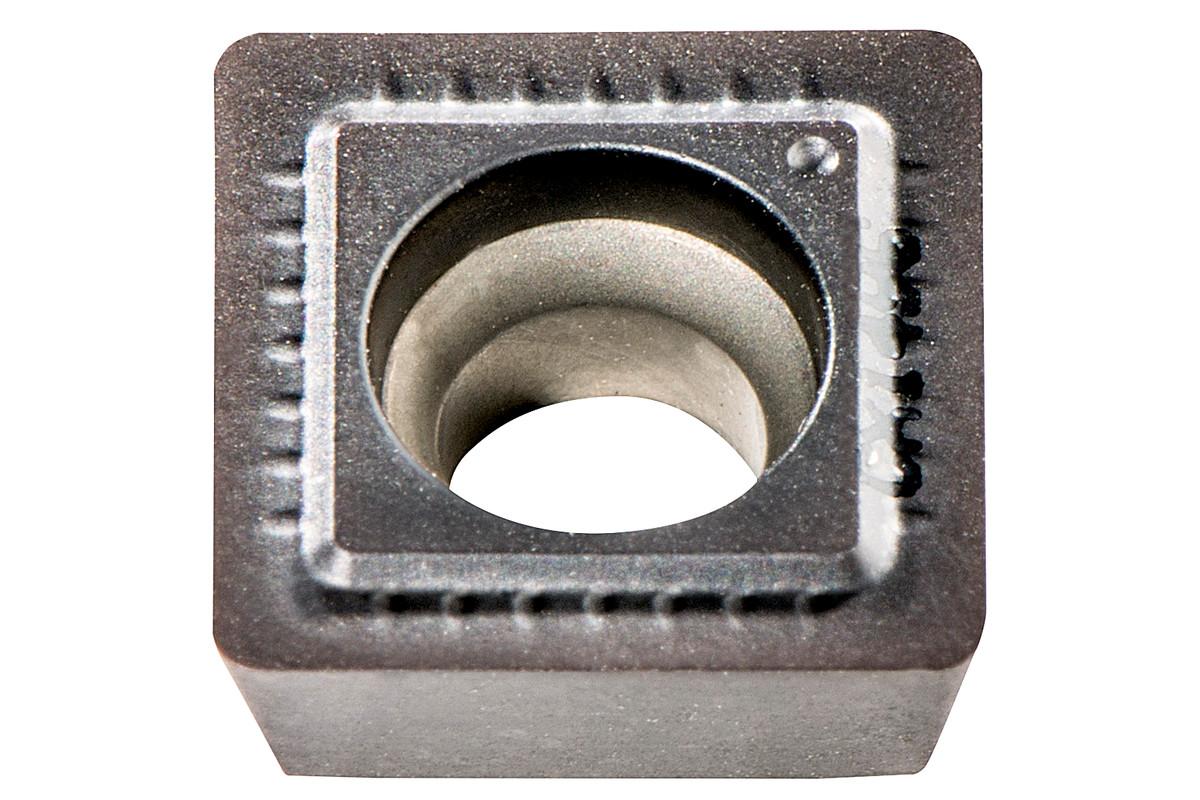 10 HM vendeplater rustf.stål (623565000)