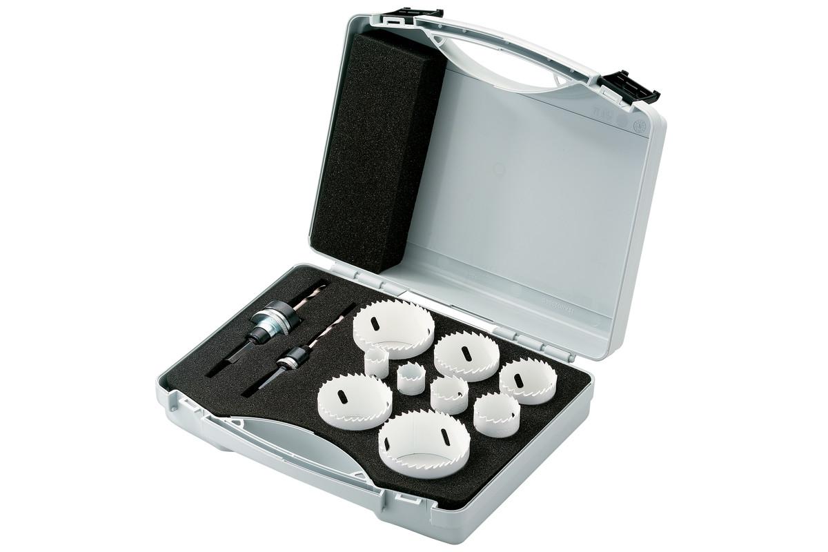 Bi-metall-hullsag-sortiment 2, 11 deler (625435000)