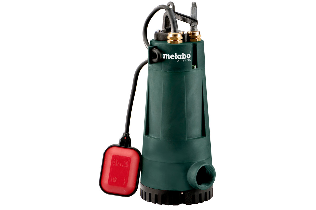 DP 18-5 SA (604111000) Bygg- og skittenvannspumpe