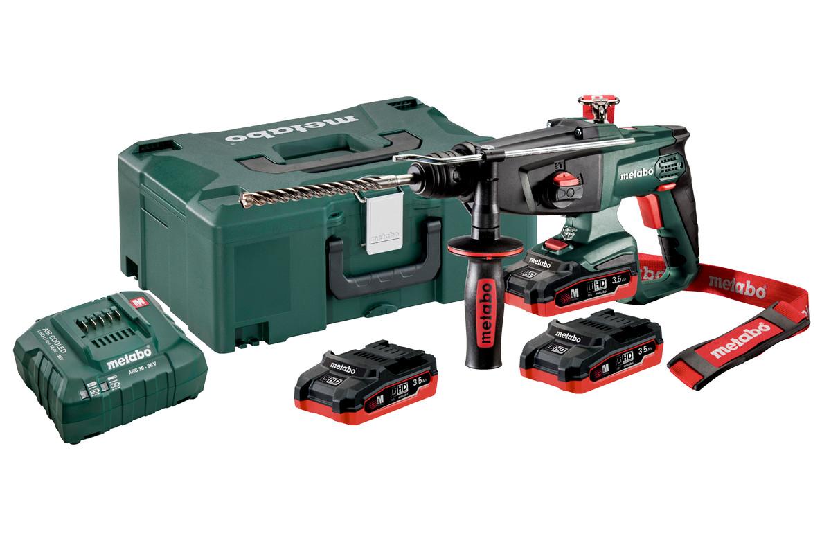 KHA 18 LTX Set (600210930) Batteri borhammer